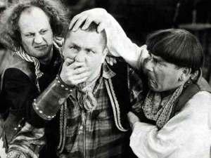 Encuentran cortometraje perdido de Los tres chiflados