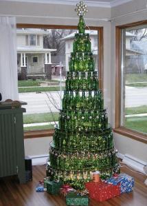 ¿Poco espacio para colocar un arbolito navideño?… acá te dejamos estas ideas creativas