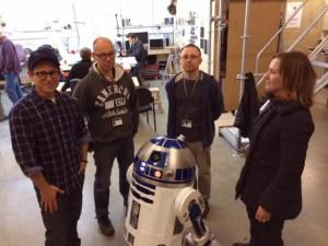 """Revelada primera imagen de la pre-producción de """"Star Wars: Episodio VII"""""""