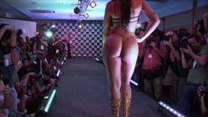 Daiane es Miss Bum Bum, el mejor trasero de Brasil (Video)