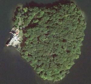 La isla que Angelina Jolie le regaló a Brad Pitt (Foto)