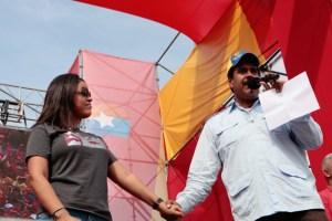 La felicitación cumpleañera de la hija de Chávez a Maduro