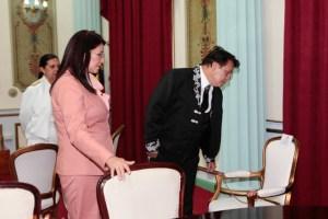 """""""Juanga"""" y la silla de Chávez (Fotos)"""