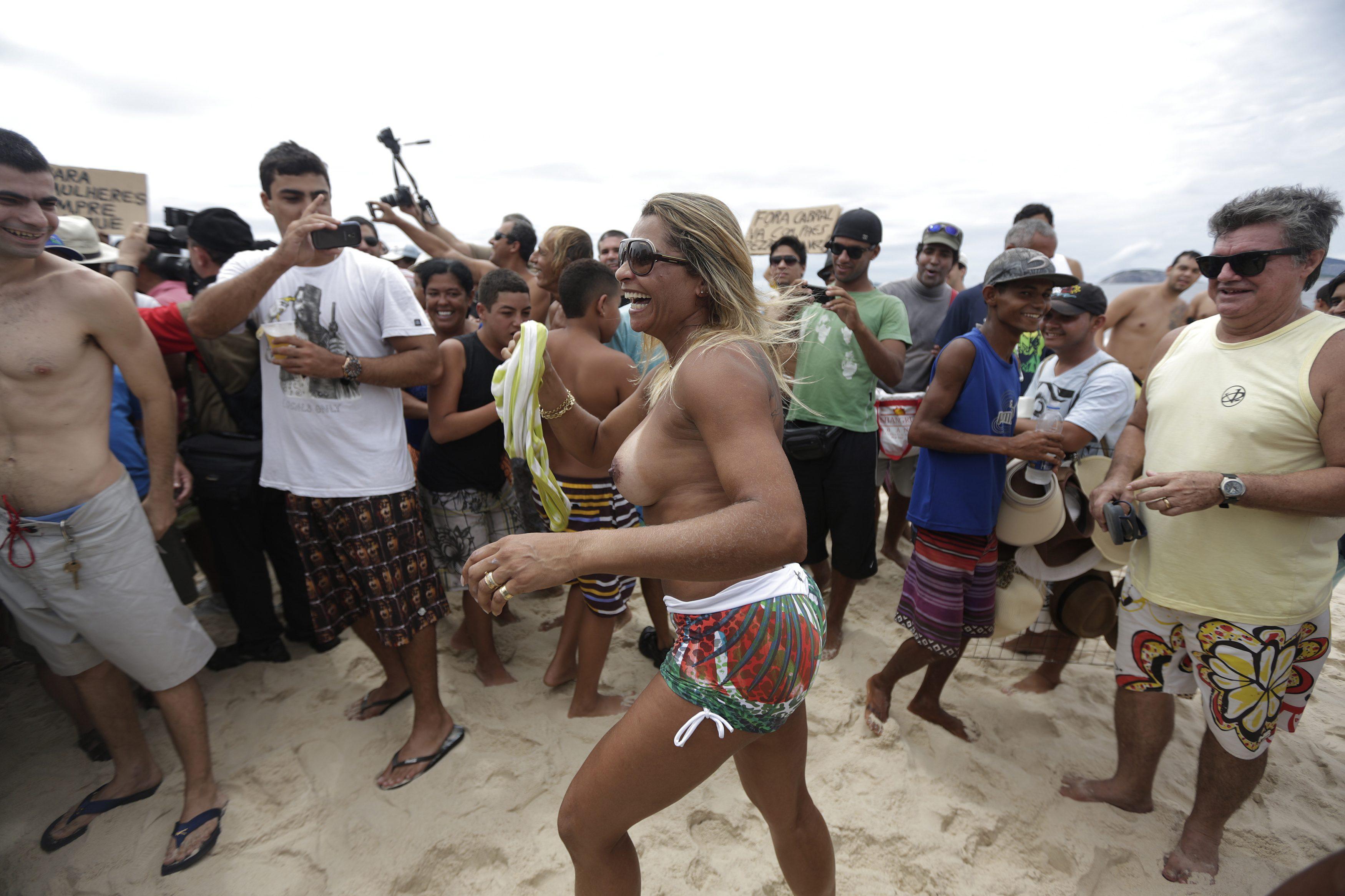 Rio designates first nudist beach