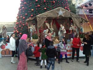 Así celebran la navidad en Belén (Fotos)