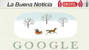 """Felices Fiestas, nuevo """"doodle"""" de Google"""