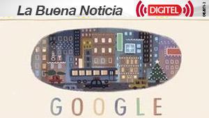 Felices Fiestas, el segundo doodle de Google para esta Navidad