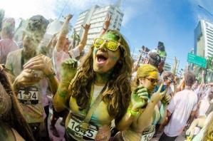 """Así fue la """"Carrera del Color"""" en Caracas (Fotos)"""