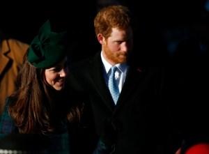 Kate y Harry juntos en Navidad (Foto)