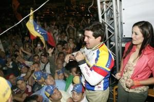 """""""Hoy amanece la San Cristóbal del progreso"""""""