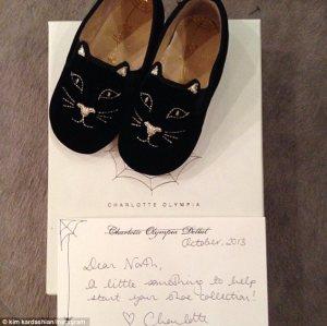 Estos son algunos de los regalos que recibe la hija de Kim Kardashian por Navidad (Fotos)