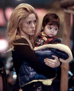 La demacrada cara de Shakira (Foto)