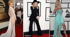 Los peor y mejor vestidos de los Grammy (Fotos)