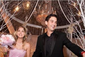 """Así fue la boda rosa de """"Penny, Penny, Penny"""" (Fotos)"""