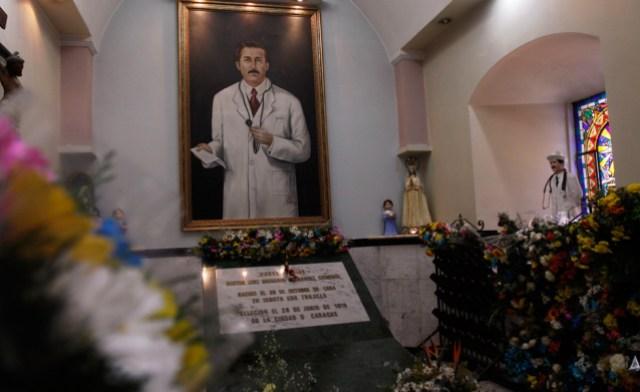 Retrato de José Gregorio Hernández. Archivo.