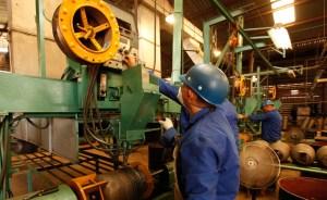 Capacidad industrial está por debajo del 50%