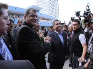 Ecuador vota para elegir autoridades locales