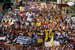 Así marchó la oposición en Venezuela (Fotos)