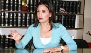 María Corina: Descalificar a los que tienen diferencias con uno es ayudar al régimen