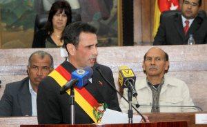 Capriles: Si hay posibilidades de cambiar las cosas con el diálogo, yo le echo pichón