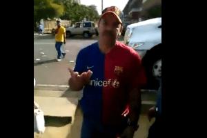 Alcalde de Caroní ataca a estudiante (Video)