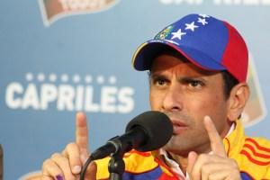 """Capriles denuncia """"lunes negro"""" para la economía de los venezolanos (devaluación + aumento de precios)"""