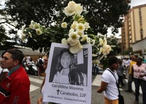 Condenan a 30 años de prisión a GNB por asesinato de Geraldine Moreno