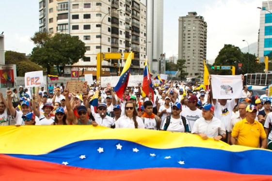 Movilización Pacífica Los Ruices 09 mar 2014 (1)