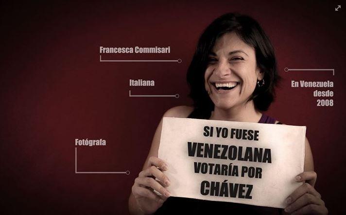 Periodista italiana detenida por tomar fotos... votaría por Chávez en el 2008 (reprimida está)