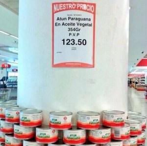 El billete de más alta denominación del país no alcanza para comprar una lata de atún (FOTO)