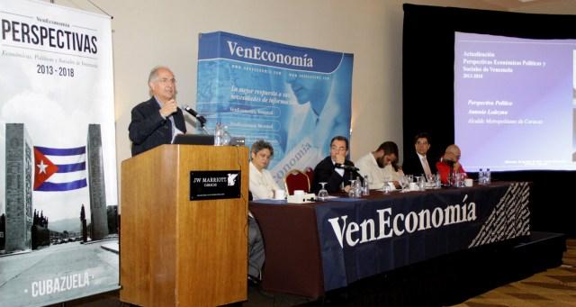 Ledezma en foro de VenEconomia-