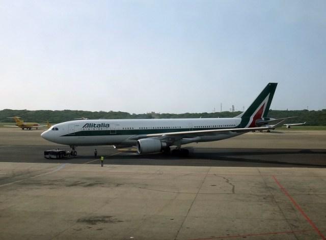 Alitalia-maiquetia