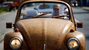 Automóviles que deseas: Un Volkswagen Escarabajo de madera