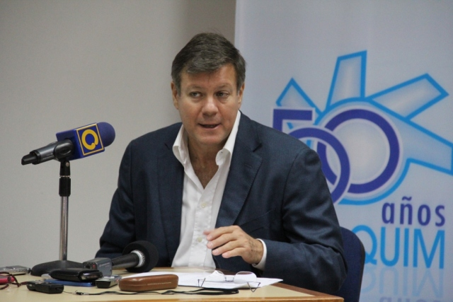 Juan Pablo Olalquiaga, presidente de Conindustria