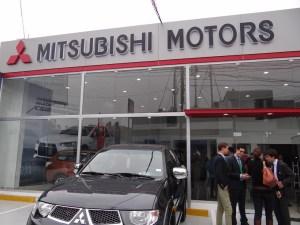 Publican lista de precios de vehículos Mitsubishi