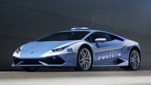 La policía italiana recibió su nuevo Lamborghini Huracán (FOTOS)