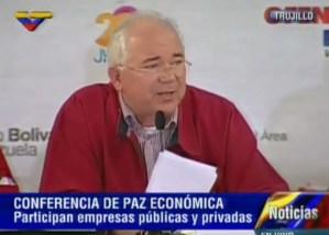 """Según Ramírez, más de dos mil empresas participarán en la nueva """"ofensiva económica"""""""