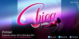 Todo listo para la elección de las candidatas #ChicaPatilla 2014
