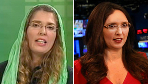Vanessa Davies salta la talanquera y consigue trabajo en CNN (Fotomontaje)
