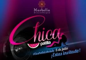 Rumbea con la #ChicaPatilla 2014 en Marbella Disco