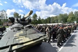 La Otan está alarmada por las armas pesadas  y sofisticadas de los separatistas en Ucrania