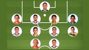 Equipo ideal del Mundial según la Fifa (Messi no figura)