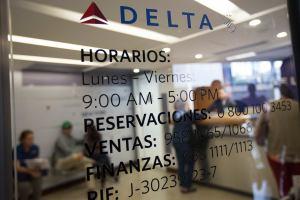 Delta Airlines tendrá un solo vuelo Atlanta-Caracas