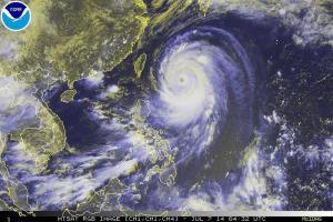 """El sur de Japón en alerta máxima por la llegada de un """"supertifón"""""""