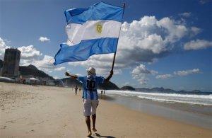 El Mundial se acabó, pero muchos argentinos se quedaron