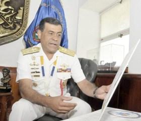 Almirante Gilberto Pinto Blanco / Foto Correo del Orinoco