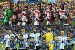 Argentina y Alemania vuelven a verse las caras…en amistoso