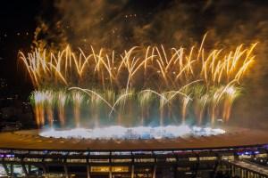 Por si te lo perdiste… el Maracaná estallando en celebración con fuegos artificiales (FOTOS)