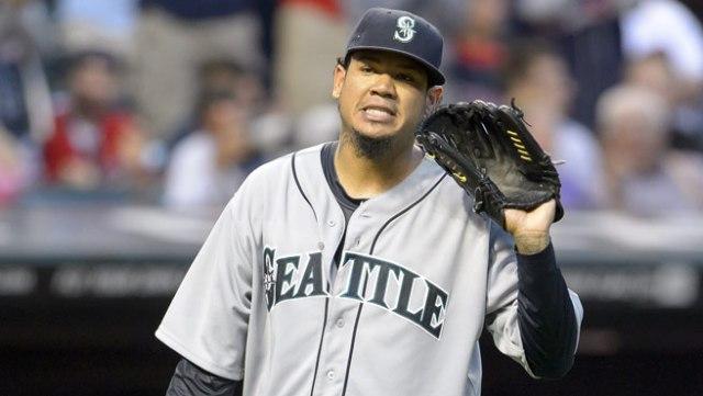 Felix Hernández, lanzador de los Marineros de Seattle (Foto: AP)