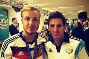 Este campeón del mundo pidió a Messi hacerse una selfie con él